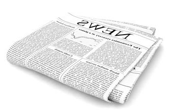 a close up of a newspaper: The new tell-all