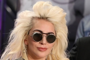 Entertainment: Mark Ronson in studio with Lady Gaga and