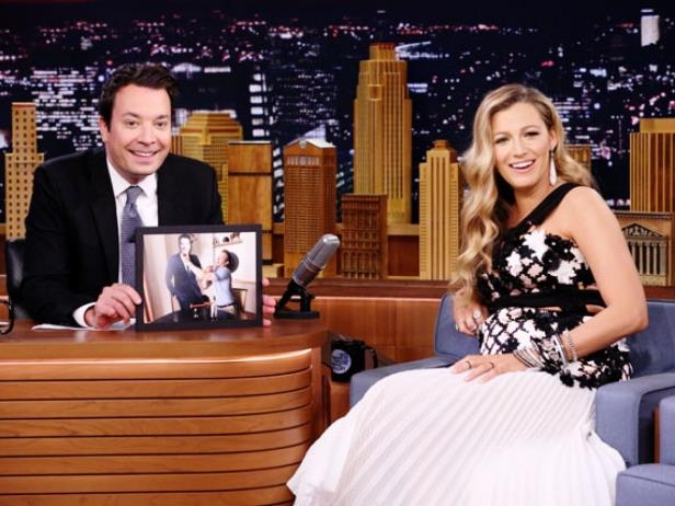 80aee2c4129 Photo  Andrew Lipovsky NBC Getty Images. Refinery29. Blake Lively may be a  pregnant ...