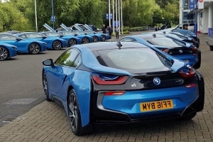 Cars Leicester City Owners Treat Players To Fleet Of Bmw I8s