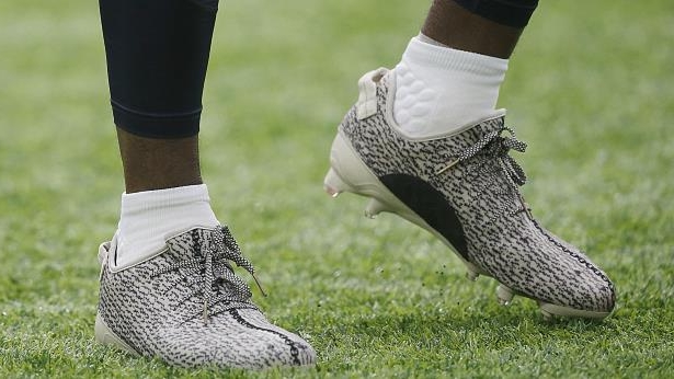 3b85152b27ba Sport: DeAndre Hopkins pinched for wrong shade of Yeezy cleats ...