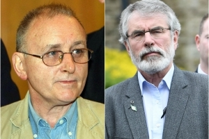 Gerry Adams sanctioned the killing of British spy, claims former IRA man