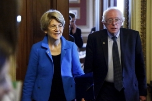 Democrats Elevate Bernie Sanders and Elizabeth Warren as Party Plots Comeback
