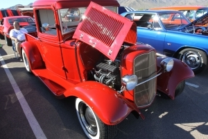 The Thanksgiving Tale of Calvin Brandt's Red 1933 Ford Pickup