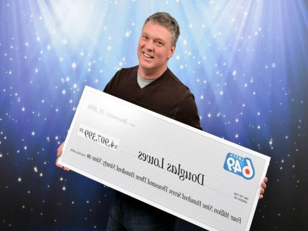 Canada: Cranbrook man's 'lucky' feeling leads to $4 9M