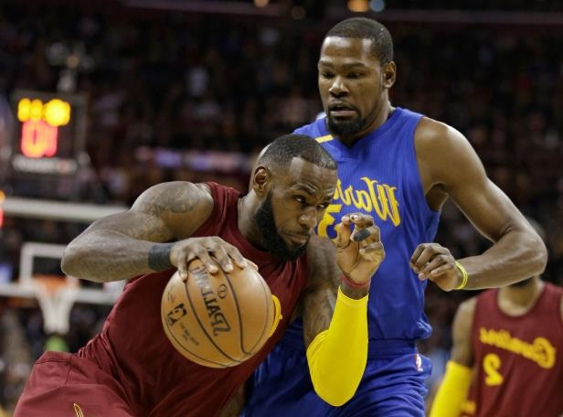 LeBron James and Kevin Durant don t have to get up for most opponents this 0cb115d94