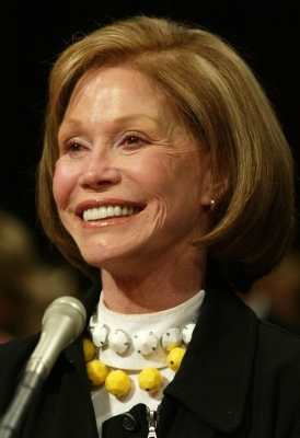 WASHINGTON - In this 2003 photo, actress Mary Tyler Moore, who died Wednesday, testified before Congress on behalf of the Juvenile Diabetes Research Foundation.