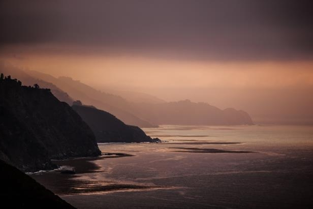 The California coast around Big Sur will make you forget about your digital devices.