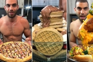 Hungry Heart: This Ripped Guy Eats Just One 4,000-Calorie Meal Every Day