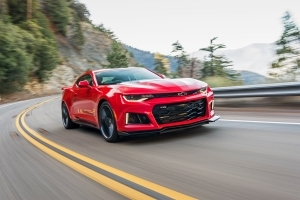 The 2017 Chevrolet Camaro ZL1 is Capable of 200+ MPH