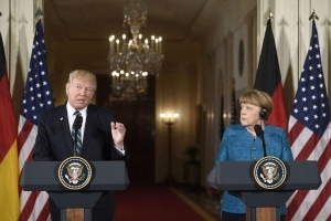 Angela Merkel had to explain how EU trade works to Donald Trump