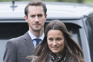 6d4f4e62a Pippa Middleton has huge glass marquee installed at parents' house ahead of  wedding
