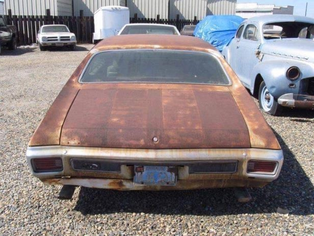 News: Amazing 1970 Chevelle SS396 Barn Find Sells at the Russo and