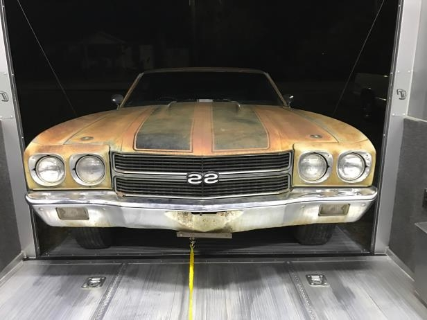 News: Amazing 1970 Chevelle SS396 Barn Find Sells at the