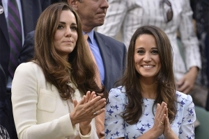 Newlywed Pippa and her sister Kate have something special to look forward to
