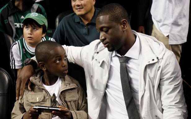 Sport: Dwyane Wade explains his 'Three R's' of fatherhood and