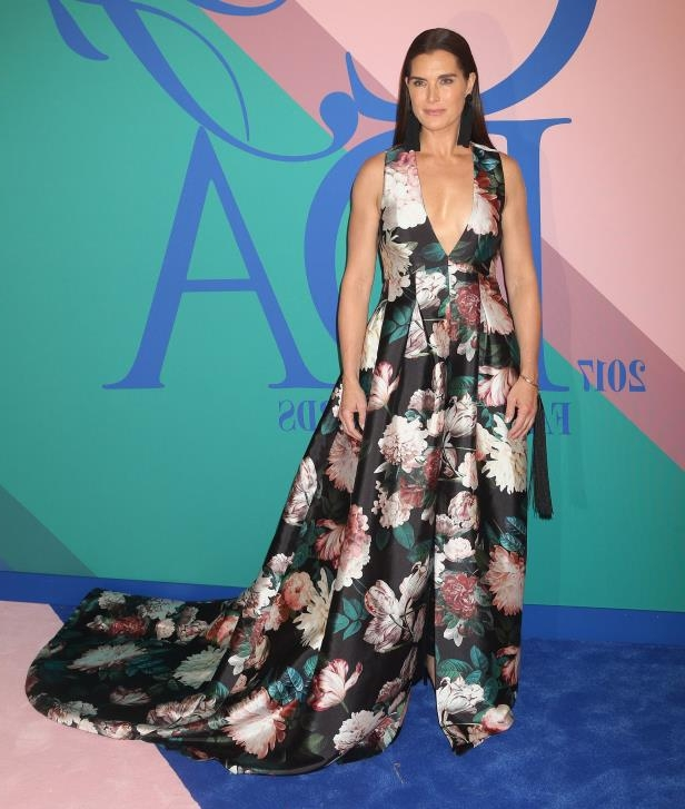 dea3d4ca9a8 Brooke Shields attends the CFDA Fashion Awards in New York City on June 5