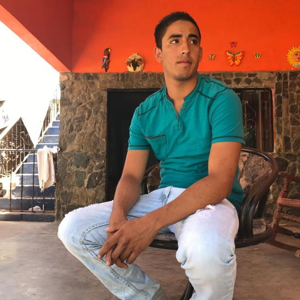 Juan Manuel Montes, 23, speaks in a relative's home in western Mexico after he was deported by U.S. Customs and Border Protection on Feb. 19, 2017.