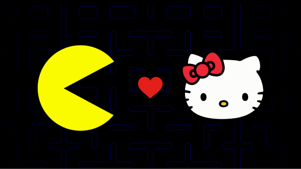 34f7feab1 Technology: When Pac-Man Met Hello Kitty: '80s Icons Join Forces in ...