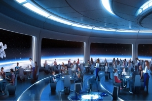 Disney World's Newest Restaurant Plan Is Literally Out of This World