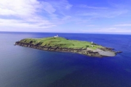Travel Little Rossa Tiny Island In Scotland With A Murderous