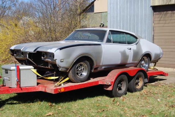 Classics: Man won this ultra-rare 1968 Hurst/Olds by a draw from a