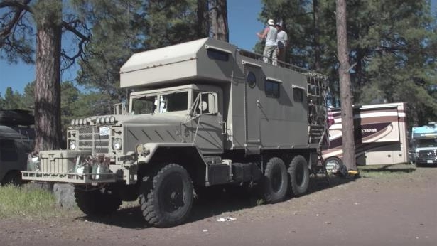 Enthusiasts: This Ex-Military Off-Road Recreational Vehicle Is a