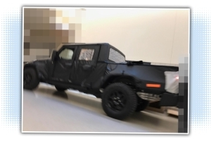Here's Another Leaked Picture Of The Jeep Wrangler Pickup