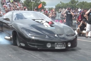 Watch This 4,000 Horsepower Firebird Destroy the Drag Strip