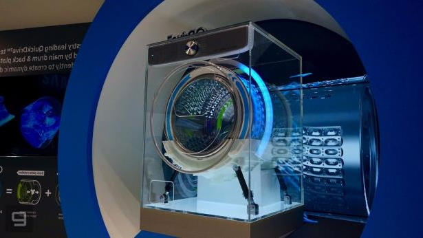 Technology: Samsung's 'AI-powered' washer is just trying to save you