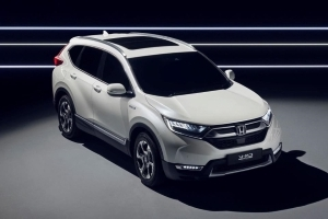 Honda to unveil CR-V Hybrid in Frankfurt