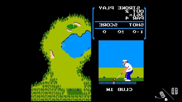 Tech & Science : Nintendo Switch carries a copy of NES 'Golf