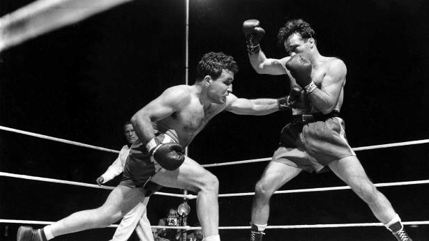 Sports: Boxer Jake LaMotta, immortalized in 'Raging Bull