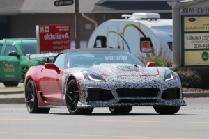 Spied! 2018 Corvette ZR1 Caught With an Automatic Transmission