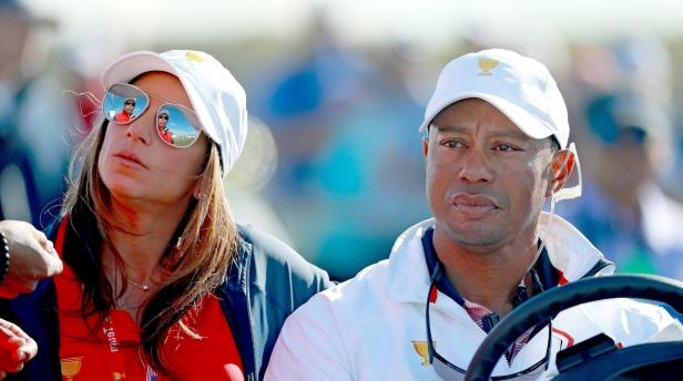 ce8d796a Sport: Who is the woman accompanying Tiger Woods at the Presidents ...