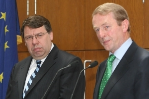 Former Taoisigh, Brian Cowen and Enda Kenny, cited as potential mediators in Spanish-Catalan stand-off