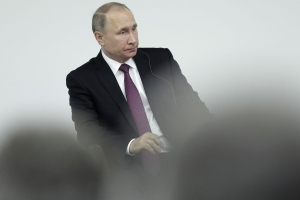 Putin Says He Has `Zero Personal Relationship' With Trump