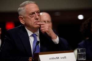 U.S. Defense Secretary Mattis suggests sticking with Iran nuclear deal