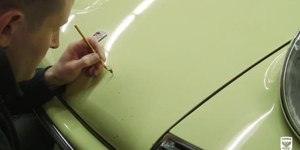 How to Touch-Up Rock Chips On Your Car
