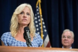 Kellyanne Conway Scrutinized for Taking Private Flights