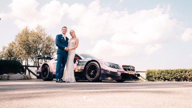 Mercedes AMG DTM wedding