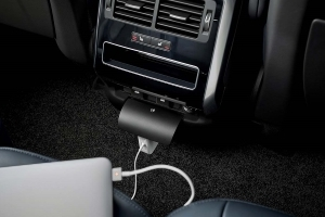Plug and play: new Range Rover Sport comes with three-pin plug sockets