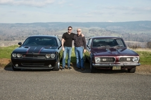 Readers' Rides: Father-son 1968 Barracuda and 2010 Challenger R/T