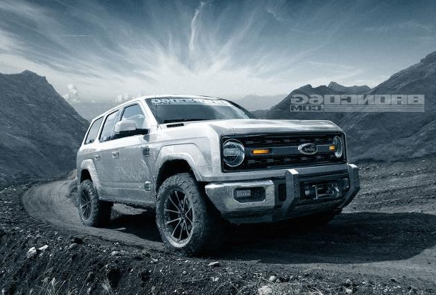 Enthusiasts 4 Door 2020 Ford Bronco Concept Isn T Real Still