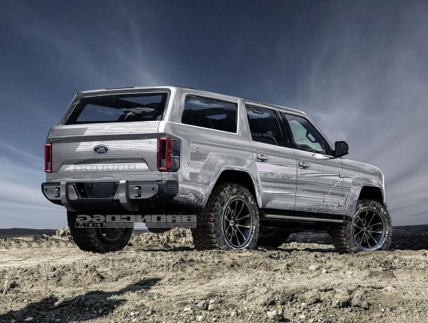Enthusiasts: 4-Door 2020 Ford Bronco Concept Isn't Real