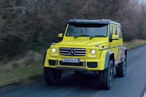The Mercedes G500 4x4 Squared Is a Great Road Car