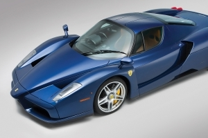 This Blue Ferrari Enzo Can Be Yours