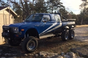 This Datsun 6x6 Pickup Is The Overkill Answer To The Apocalypse