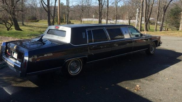Enthusiasts: Ultra-Rare 1988 Cadillac Trump Edition Limo Is