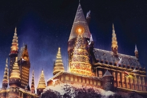 Wizarding World of Harry Potter gets its first Christmas make-over